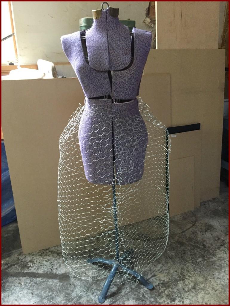 Christmas mannequin: DIY Christmas tree