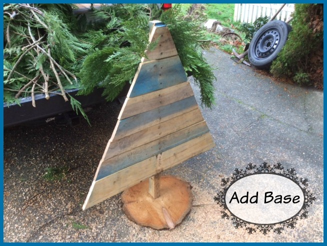 pallet tree and base