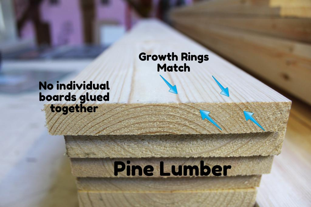 lesson one pine lumber