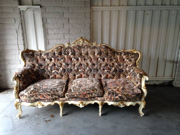 vintage couch.